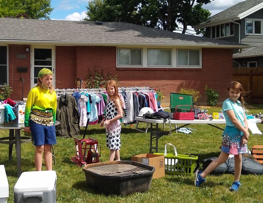 kids yard sale